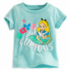 Disney Store Alice in Wonderland Girls Baby T Shirt Size 0-3 3-6 Months NWT