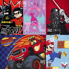 Official Licensed Character Fleece Blankets Lego Nick Jr Kids Boys Girls GIFTS