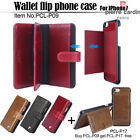 PIERRE CARDIN Genuine Leather Case More Card Slot Cover For Apple iPhone 7 Plus