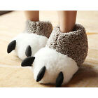 New Winter Warm Plush High-top Men Women Cotton Paw Spell Slippers Soft Shoes
