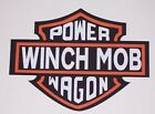 Power Wagon Winch Mob Window or Bed side Decals Sticker Decal 4x4 Warn Ram