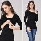 Maternity T-shirt Breastfeeding Clothes Nursing Tops For Pregnant Women Shirt