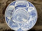 "Altoona PA HORSESHOE CURVE 7.5"" Collector Plate Souvenir Shop"