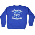 ADVENTURE BEFORE DEMENTIA PARACHUTE SWEATSHIRT jumper skydiving birthday gift