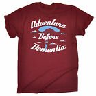 ADVENTURE BEFORE DEMENTIA PARACHUTE T-SHIRT skydiving funny birthday gift 123t