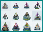Esoteric Crystal Pyramids Magical, Mystical Full of Colours and Light Assorted
