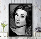 Audrey Hepburn Famous Actress Beauty High-Quality Poster Print Art A1, A2, A3+