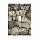 Stone Wall Natural Light Switch Plate Outlet Wall Cover  Decor