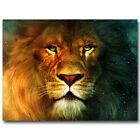 Chronicles Of Narnia Aslan Lion Home - Art Silk Poster Deco 0386