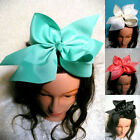 10 Inch Large Grosgrain Ribbon Knot BowKnot Hair Bow Alligator Clip For Girl