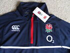 S M L XL XXL ENGLAND RUGBY NAVY TRAINING TOP  CANTERBURY NZ Tags Lightweight