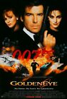 "007 GOLDENEYE 1995 Movie Silk Poster 11""x17"" 24""x36"" James Bond, Pierce Brosnan $15.59 CAD on eBay"