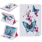 Cute two butterfly Stand Leather Cover case for various Samsung Ipad tablet