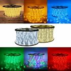 150' 300' Ft Xmas LED Rope Lissom 110V Christmas Home Party Decorative In/Outdoor