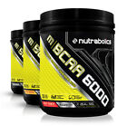 Nutrabolics mBCAA 6000 Increase Amino Performance (30 Servings) Pick Your Flavor