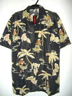 NWT HULA GIRLS & PALM TREES HAWAIIAN SHIRT by BIG BROTHER size S, L or XL