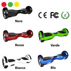 HOVERBOARD SMART BALANCE MONOPATTINO ELETTRICO PEDANA SCOOTER BLUETOOTH 2 RUOTE