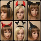 Alice Band Cat or Mouse Ear Black Fabric Headband Women Hair Accessories  Party
