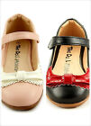 Girls Dress Shoes Collar design at front Mary Jane Style Toddler Size