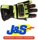 FRANK THOMAS STRIKER 26-16 TEXTILE MOTORCYCLE GLOVES MOTORBIKE YELLOW J&S