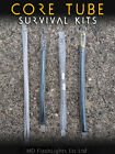 WAZOO SURVIVAL KIT CORE TUBE™ PARACORD BRACELET INSERTS BUSHCRAFT EDC CAMPING