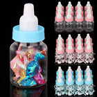12/24X Fillable Bottles Candy Box Baby Shower Baptism Party Christening New