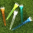 78mm Plastic Assorted Golf Crown Booster Tees Friction Reduce Tees 50Pcs 100Pcs