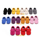 Fashion Baby Tassel Soft Sole Leather Shoes Infant Boy Girl Toddler Moccasin Lot