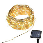 150 LED Solar Powered Fairy String Lights For Wedding Party Xmas Christmas Tree