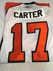BRAND NEW JEFF CARTER 17 RETRO PHILADELPHIA FLYERS WHITE REEBOK JERSEY NWT