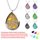 Crafted Stainless Steel Essential Oil Diffuser Necklace With Beaded Chain + Pads