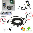 7mm 1/2/3.5M Android OTG Mini USB Inspection Endoscope Snake Borescope Camera