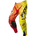 Fox Racing 360 Future LE Rouge Jaune Pantalon Motocross Enduro Broek Pant Moto