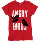 Angry Birds Game Shirt | Funny Gift Idea for Kids Movie Pigs Ladies T Shirt