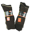 New Gold Toe 4 Pack Brown Solid/Geo Dot OR Solid/Dot Cotton Dress Socks 10-13
