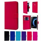 Book Wallet PU Leather Case Cover For Huawei Phones + Screen Protector & Stylus