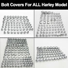 FIT ALL HARLEY DAVIDSON MODEL TOPPERS ABS CHROME BOLT NUT DRESS COVERS CAPS KIT $18.99 USD on eBay