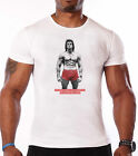 SYLVESTER STALLONE GYM T-SHIRT - BODYBUILDING - WORKOUT - ROCKY -UNISEX CLOTHING