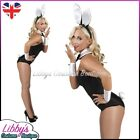 Bunny Girl Waitress Maid 4 Piece Accessory Kit Sexy Fancy Dress Costume Outfit