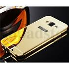 Mirror Gold Hard Ultra Slim Metal Bumper Case Cover For Various Mobile Phone