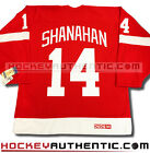 BRENDAN SHANAHAN DETROIT RED WINGS JERSEY CCM VINTAGE RED