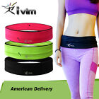 Unisex Travel Running Jogging Cycling Waist Pack Belt Bum Bag Mobile Phone Pouch image