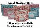 Floral Strong Mailing Post Mail Postal Bags Poly Postage Self Seal