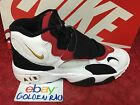 New Nike YOUTH Air Speed Turf GS Shoes White Gold Black Red 535735-100 SZ 6Y