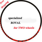 specialized ROVAL Mountain Bike Bicycle wheel set Decal for MTB DH Race Stickers