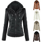Winter Women Casual Hooded Parka Coat Slim Jacket Trench Warm Outwear Overcoat