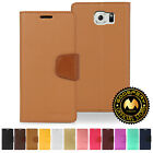 GOOSPERY® Sonata Diary PU Leather Wallet Case for Samsung Galaxy S6 Edge+ Plus