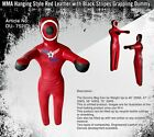 """Synthetic Leather Red Hanging Straight Grappling Dummy 69"""""""