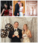 8FT x 8FT Sequin Backdrops Sequin Fabric Wedding Backdrops, Photography Backdrop