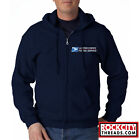 Kyпить USPS POSTAL FULL ZIPPED NAVY HOODIE EMBROIDERED Zip Up United States Service   на еВаy.соm